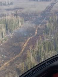 Alaska Wildfire Road Closures by Beatton Airport Wildfire Tears Through Transmission Line 2 800