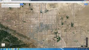 Lancaster Map Lancaster California Map