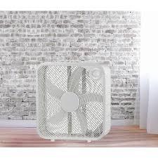 high velocity box fan 20 inch white metal high velocity oscillating box fan free