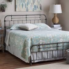 queen bed headboard metal bed base bedroom furniture queen sleigh
