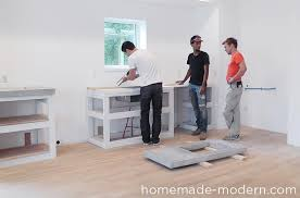 How To Install Kitchen Countertops Homemade Modern Ep87 Concrete Kitchen Countertops