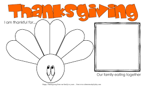 thanksgiving thanksgiving activity placemat for more family
