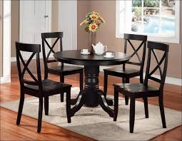 Travertine Dining Table Dining Room Fabulous Glass Top Dining Table Set Dark Wood Round