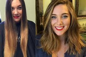 haircuts after donating hair 18 incredible hair makeovers that ll make you want to get a haircut