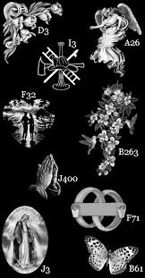 laser etched design catalogue headstone etching designs
