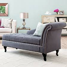 Armchair Chaise Lounge Storage Chaise Lounge Luxurious Tufted Classic Traditional Style
