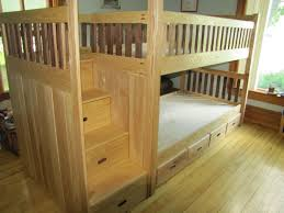 custom bunk bed by weber wood designs custommade com