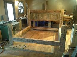 20 Diy Faux Barn Wood Finishes For Any Type Of Wood Shelterness by Best 25 Reclaimed Wood Bed Frame Ideas On Pinterest Reclaimed