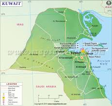 Map Of Africa And The Middle East by Kuwait Map Map Of Kuwait