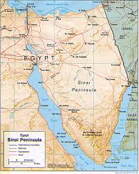 The Red Sea Map Voyages Egypt The Desert Of Sinaï And The Red Sea