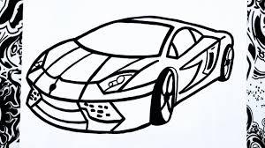 imagenes de ferraris para dibujar faciles como dibujar un carro how to draw a car como desenhar carros