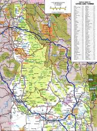 Map Of United States National Parks by Large Detailed Roads And Highways Map Of Idaho State With All