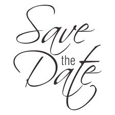 save the date save the date typography 2 transparent png svg vector