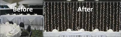 wedding backdrop lights led fairy curtain light backdrop hire for weddings and events