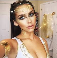Makeup Ideas For Halloween Costumes by Golden Goddess Halloween Costume Idea Halloween Costumes