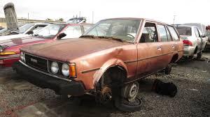 classic corolla 1980 toyota corolla station wagon u2013 junkyard find