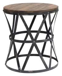 round industrial side table 14 best end table images on pinterest furniture outlet small