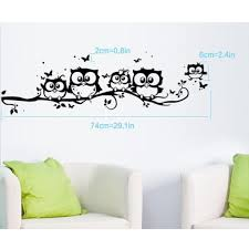 Amazon Com Dandelion Wall Decals by Laimeng Kids Creative Pvc Cartoon Owl Butterfly Removable Home