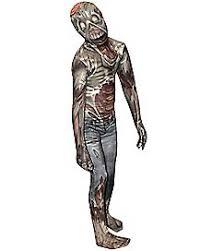Slender Man Halloween Costume Slenderman Skin Suit Costume Spirithalloween