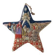 amazon com jim shore heartwood creek nativity star stone resin