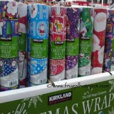 reversible christmas wrapping paper costco 2013 christmas gift wrap ribbons bows cards frugal hotspot