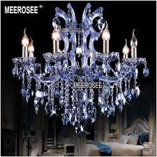 blue crystal chandelier light 8 lights blue crystal chandelier light fixture maria theresa candle