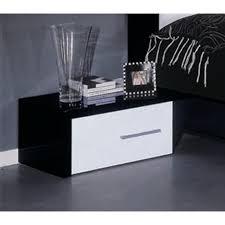 moon italian modern black u0026 white nightstand