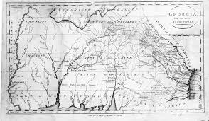 State Of Georgia Map by Hargrett Library Rare Map Collection Frontier To New South