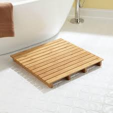 Square Bathroom Rug Bamboo Bathroom Rug Festivalrdoc Org