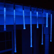 season led lights m5 blue and white icicle