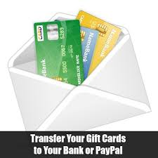 transfer your gift cards to your bank or paypal robyns world