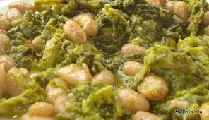 calabrian cuisine calabrian food fagioli e greens and beans