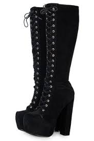 womens knee boots uk awesome womens platform wedge heels lace up knee