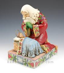 santa and baby jesus st nick with baby jesus santa claus figurines and carved