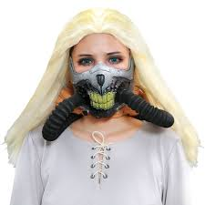 Gas Mask Halloween Costume Immortan Joe Mask Mad Max 4 Joe Cosplay Pvc Face Gas Mask