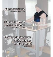 Weight Loss Standing Desk Cool Fat Burner