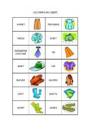 memory clothes worksheets clothes memory