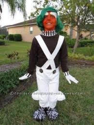 Oompa Loompa Halloween Costumes Child U0027s Candy Factory Worker Costume Size Large 10 12