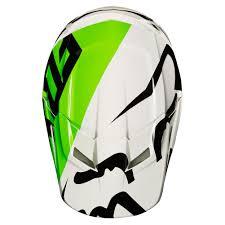 fox v1 motocross helmet 2018 fox racing v1 race helmet white black green sixstar racing