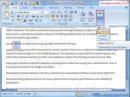 How To Find Resume Template On Microsoft Word 2007 Learn Microsoft Office Word 2007 Home Tab It Computer Training