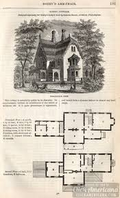 classic home design picturesque villa 1862 click americana classic home design gothic cottage 1862