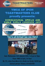 Table Topics Toastmasters International Speech And Table Topics Contest 2015 Ipohworld U0027s World