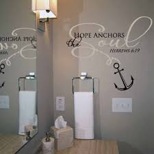Love Anchors The Soul Wall - hope anchors the soul wall decal trading phrases