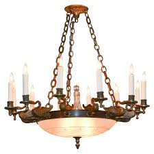French Empire Chandelier Lighting Antique French Empire 12 Arm Chandelier Legacy Antiques