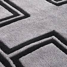 Black And White Modern Rug by High Quality Rugs Eichholtz Oroa Modern Luxury Furniture