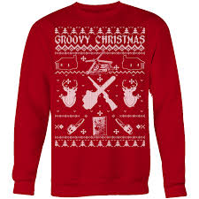 thirteen ugly christmas sweaters for horror fans popcorn horror