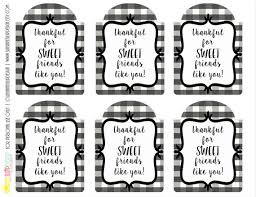 printable thankful for sweet friends gift tags printable gift