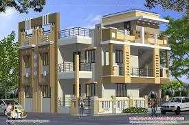 2 floor house plans india arts