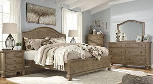 light brown panel bedroom set trishley light brown panel bedroom set