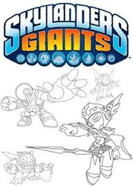 skylanders giants printable coloring pages video game coloring